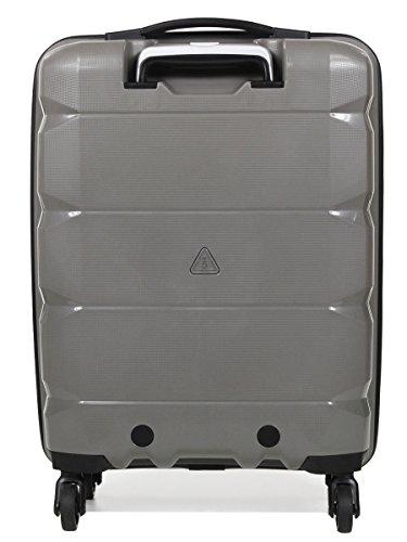 Valise cabine 4 roues 360° DAVIDT'S Flying Business Dark Grey