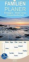 Bretagne - Bilder einer Kuestenlandschaft - Familienplaner hoch (Wandkalender 2022 , 21 cm x 45 cm, hoch): Bilder der abwechslungsreichen und beeindruckenden bretonischen Kueste. (Monatskalender, 14 Seiten )