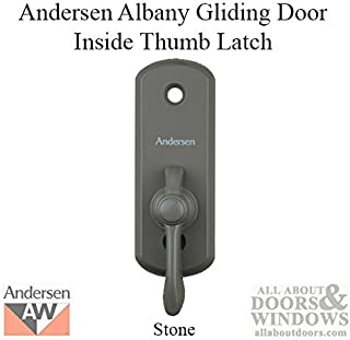 Andersen Albany Style Gliding Door Thumb Latch in Stone Color