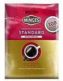 Minges Café Crème Dark Roast Megabeutel, 6 x 18 Kaffeepads (100 + 8 gratis), Aroma-Softpack, 756 g, 1er Pack (1 x 756 g)