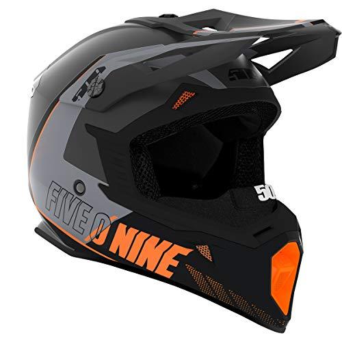 509 Tactical Helmet (Gray Orange - X-Large)