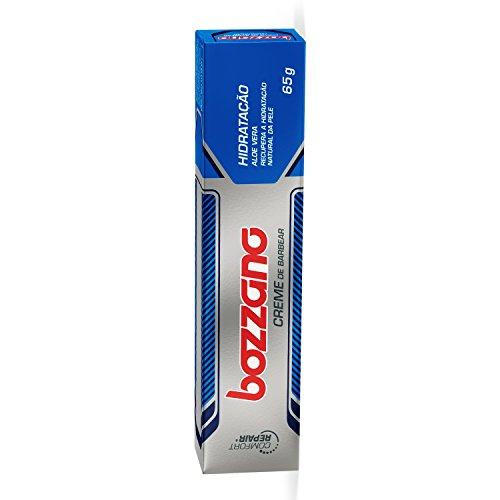 Creme de Barbear Bozzano Hidratação 65g, Bozzano, Cinza