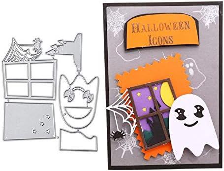 Max 71% OFF DIYshop Halloween Window Sprite Spider Compat Dies Cutting Metal Fashionable