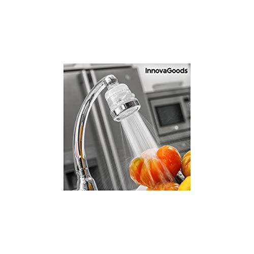 InnovaGoods | Ecogrifo con filtro purificador de agua | PP y PC | Transparente