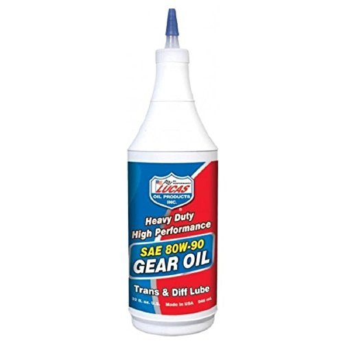 Lucas Oil 10043 SAE 80W-90 Heavy Duty Gear Oil - 1...