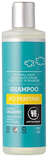 Urtekram shampoo zonder parfum, normaal haar, 250 ml