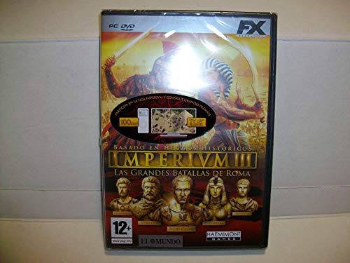 IMPERIUM III - LAS GRANDES BATALLAS DE ROMA - PC