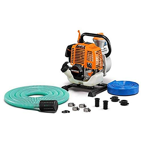 Generac 6917 CW10K Clean Water Pump with Hose Kit, 1""