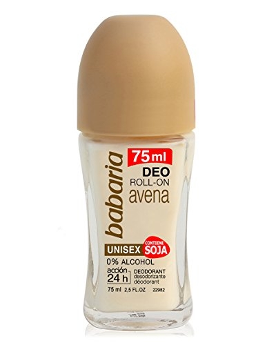 Babaria desodorante avena roll on 75 ml