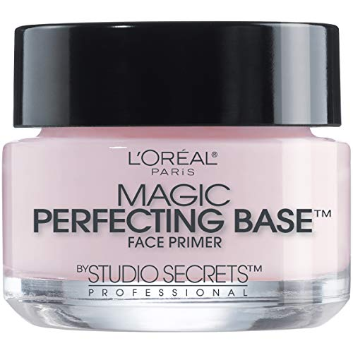 L'Oreal Paris Magic Perfecting Base Face Primer by Studio Secrets Professional 0.50 oz (Pack of 3)
