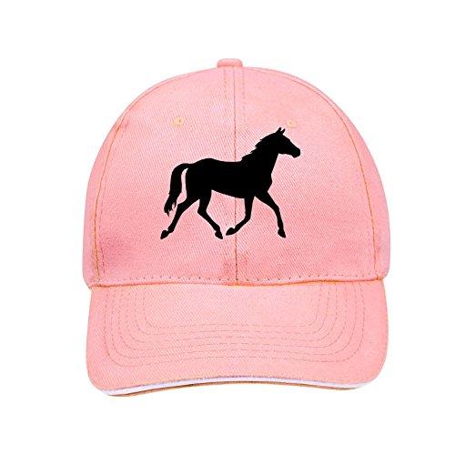 Sol's / Fassbender-Druck Basecap mit Pferd Bedruckt (Pferd Rosa)