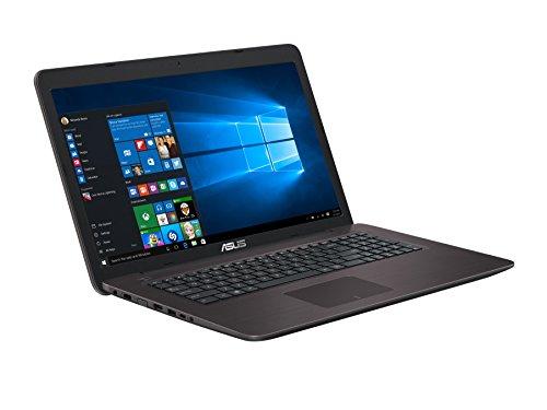 Asus 43,9cm (17,3pollici) Notebook (Intel Core, NVIDIA, unità DVD, Win 10Home)