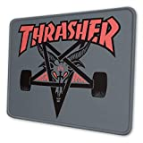 Gaming Mouse Pad Thrasher Skate Goat Non-Slip Rubber Base Mouse Pad