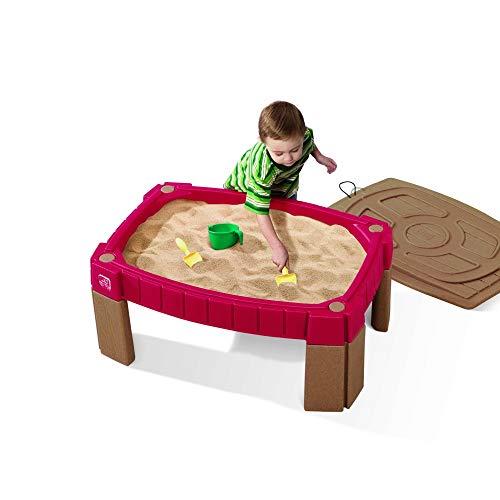 Beauty.Scouts Sandkasten Talke rot aus Kunststoff 66x91,4x41,6cm Sandkiste Kunststoffsandkasten Outdoorspielzeug Outdoor Spielen Kinder Sandmuschel