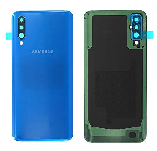 Handyteile24 - Tapa Trasera para batería para Samsung Galaxy A50 A505F - GH82-19229C, Color Azul