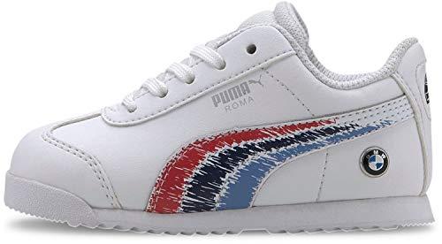Puma - - Kleinkinder BMW MMS Roma Schuhe, 26 M EU, Puma White/Puma White