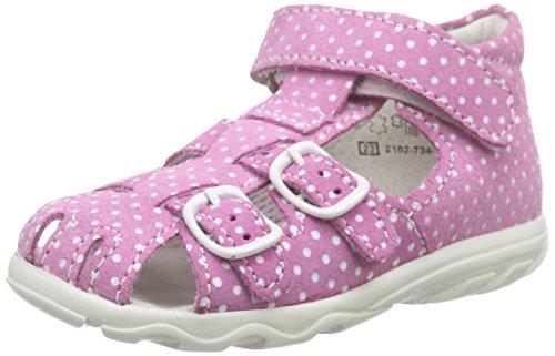 Richter Kinderschuhe Terrino 2102-734 Baby Mädchen Lauflernschuhe, Pink (lollypop 3700), 20 EU