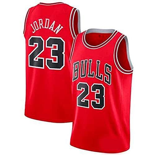 YCQQ Ropa De Baloncesto Camiseta Retro para Hombre Michael Jordan # 23 Deportes De Baloncesto Camiseta De Chicago Camiseta Deportiva Sin Mangas(Size:M,Color:G4)