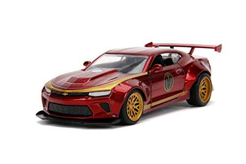 "1:24 Jada 99724 2016 Chevrolet Camaro /""Ironman/"" Marvel Avengers NEU /& OVP"