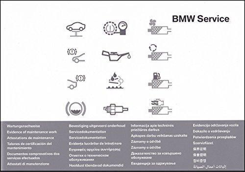 original BMW Serviceheft Scheckheft NEU (universell für alle BMW)