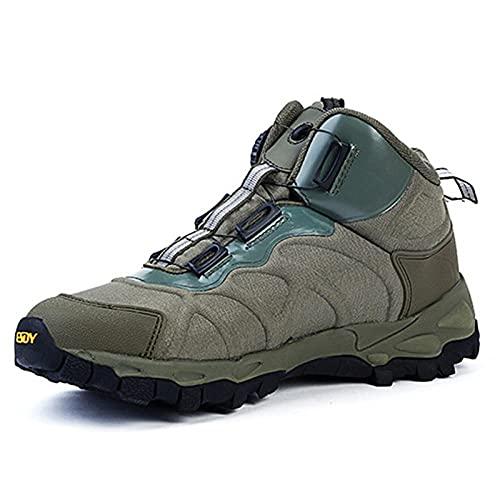 Aerlan Trail Running,Botas de Lucha Ligera al Aire Libre, Senderismo, Deportes, Senderismo, Zapatos-Armygreen_42,Calzado Deportivo Hombre Mujer