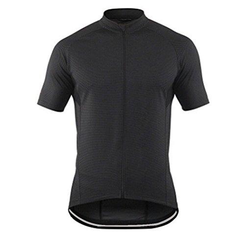 VYES Men's Cycling Jersey Full-Zip Short Sleeve Reflective