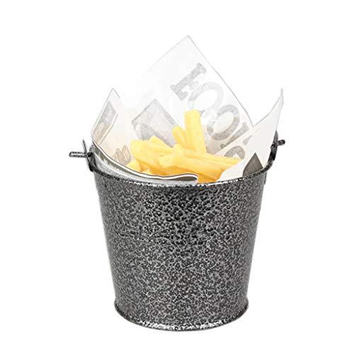 アイスペール氷バケツ金属製ケーキフラワーポットスナック容器