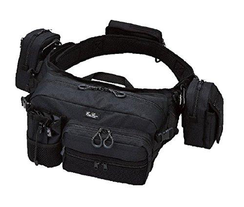 tackle bags 2 Evergreen Tackle Bag Hip and Shoulder Fishing Bag HD 2 Black (4445) 4533625094445