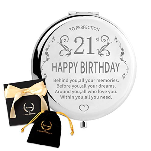 ARTSUN 21st Birthday Gifts for Her, Best 21 Years Old Birthday Gifts for Daughter Happy 21st Birthday Gift Ideas for Women Present for Turning 21 to Sister 30th 40th 50th 60th1990 1980 1970 1960