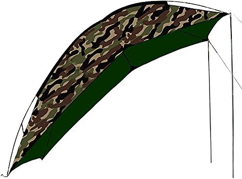 XJYXH Toldo de automóviles, Refugio de Sol portátil, Tienda Lateral del Coche Trasero, para SUV Hatchback Camping al Aire Libre Viaje a Prueba de Lluvia Sombra (Color : Camouflage, Size : A)