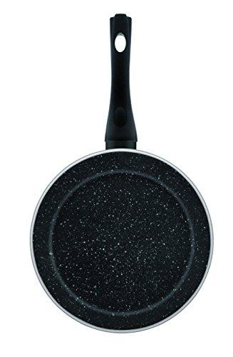 Jata Hogar Sartén, Aluminio Forjado, Negro, 22 cm