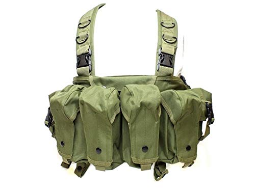 AK Chest Tactical Vest Military Army Equipment AK 47 Magazine Pouch Outdoor...
