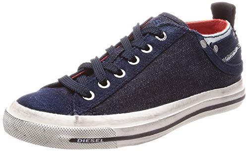 Diesel Zapatillas de Mujer Diesel Exposure I Low (Indigo Blue, Numeric_35_Point_5)