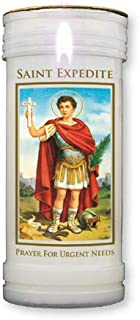 St Sainte Th/ér/èse Bougie pilier 14 cm 6 cm 72 heures