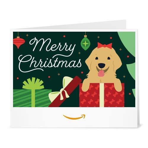 Amazon Gift Card - Print - Christmas Puppy