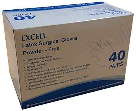 Surgical Gloves Size Ranking TOP10 7 Latex Free Spasm price Powder Box 40Pr