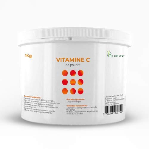 Le Pré Vert Vitamin C Powder 100 % Pure 1 kg Made in France