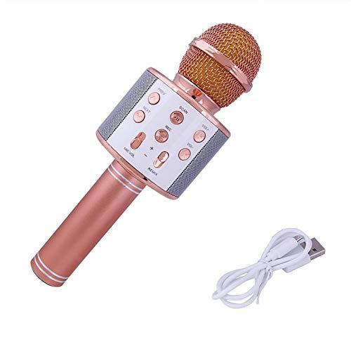 Draagbare bluetooth-microfoon, afmetingen WS858, draadloos, hoge gevoeligheid, hotels, muziek, spelen in chatten, karaokechatten.