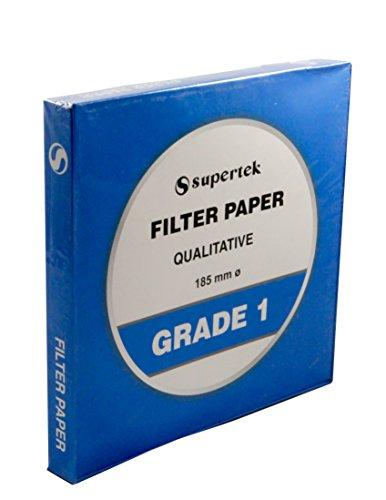 Filter Paper, Qualitative, Grade 1, 215 mm (Diameter) Pack of 100 Sheets