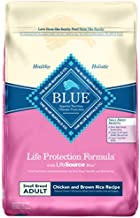 Blue Buffalo Life Protection Formula Small Breed Dog Food , Natural Dry Dog Food for Adult Dogs , Chicken and Brown Rice , 15 lb. Bag