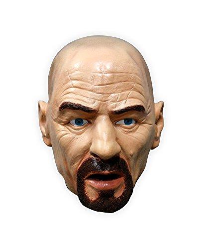 shoperama Hochwertige Latex-Maske Walter White Heisenberg Breaking Bad Non-Toxic