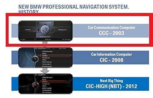 2019 B M W Professional CCC Update DVD1 + DVD2 Blitzer Edition