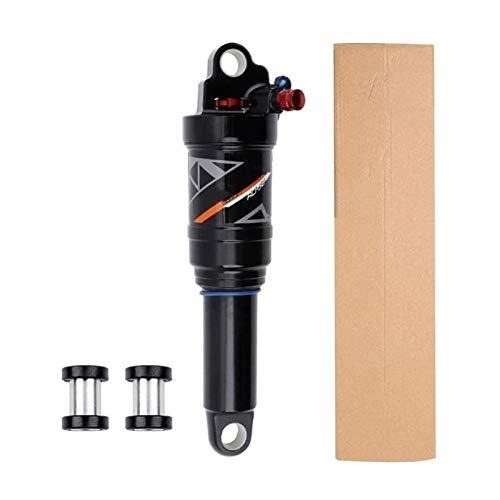 YQQQQ Amortiguadores Traseros de Bicicleta Resorte Neumático Bloqueo de Rebote Cuesta Abajo Amortiguación Ajustable Suspensión de Montaña (Color : Manual Control, Size : 165mm)