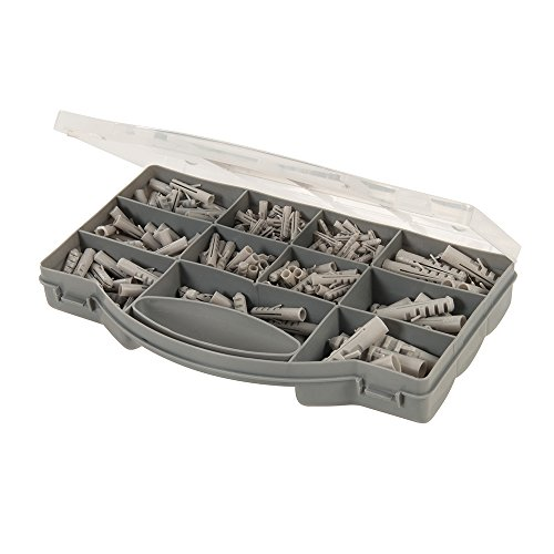 Fixman 530552 Coffret de Chevilles assorties, Gris 330 pièces