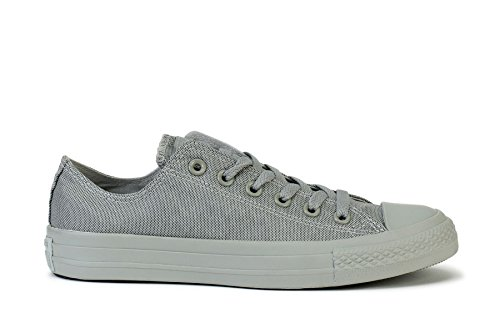 Converse Sneakers Chuck Taylor All Star Low Mono Mirage Gray 150199F, 7 Women/5 Men