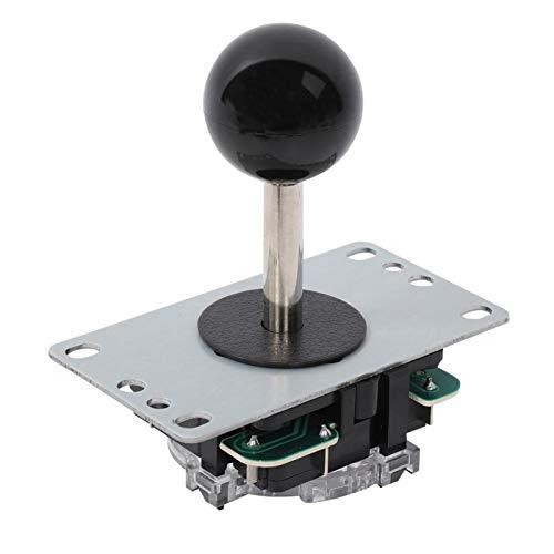Arcade Contest DIY Kits DIY Arcade Game Button und Joystick Single Rocker Set für PC Game Machine(Schwarz)