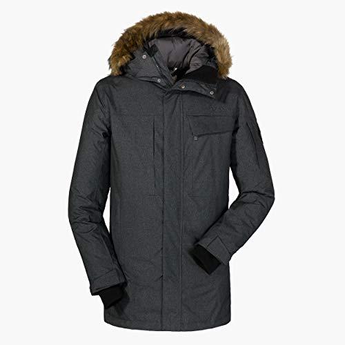 Schöffel Down Parka Storm Range1 M weerbestendige en warme donsjas voor heren, ademende en lichte winterjas