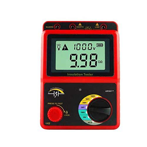 DJY-JY Smart Sensor AR907A + 100-2500V Isolationsmessgerät Digitales Megohmmeter AC/DC-Spannung und Tester Ohm-Meter