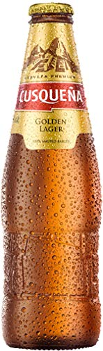 Cerveza Cusqueña Golden Lager - 24 botellas 330 ml - 7920 ml