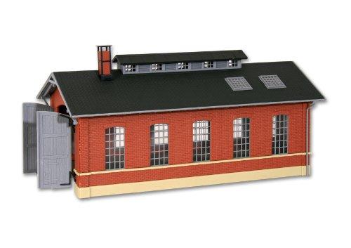 H0 Single track engine shed